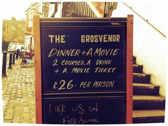 The Grosvenor Cinema: Dinner & a Movie at the Grosvenor