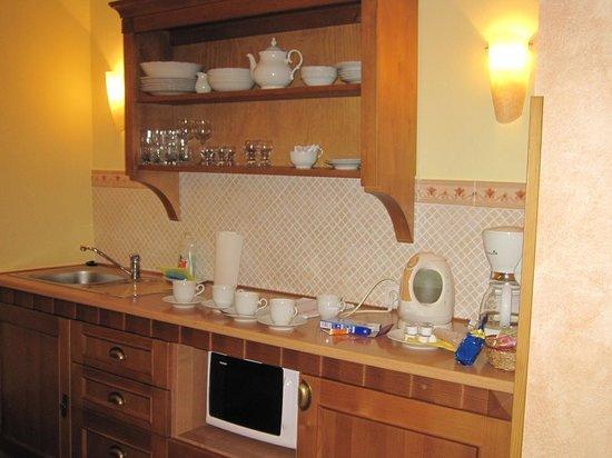 Castle View Apartments: キッチン