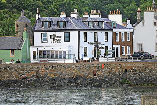 Portpatrick, UK: new terrace