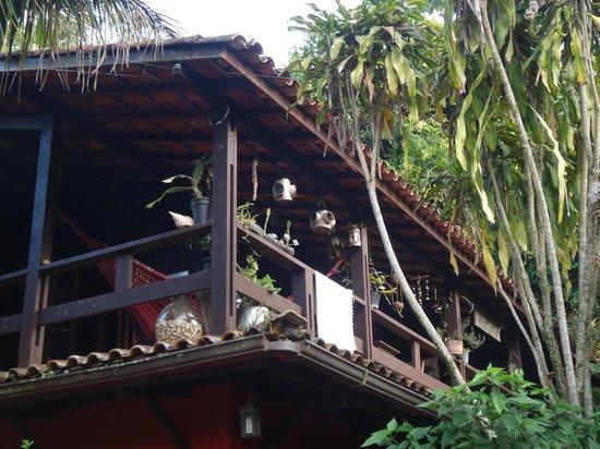 Pousada Paloma: La galería-terraza