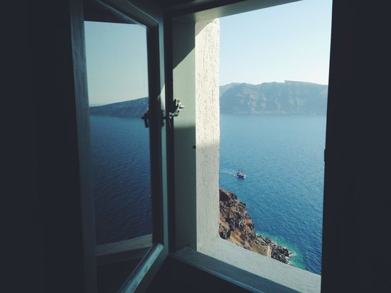Spitia Houses: View from the bathroom