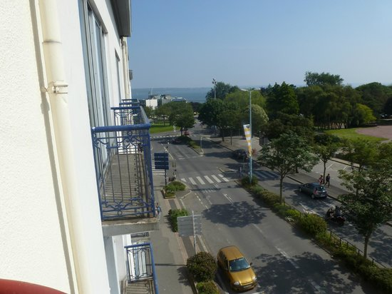 Hotel Abalys : view from 3rd floor room 303