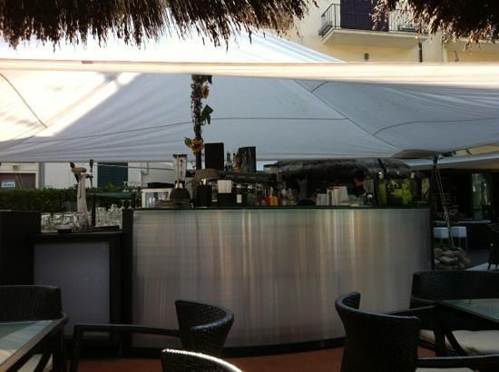 Garden Bar: bancone bar distesa