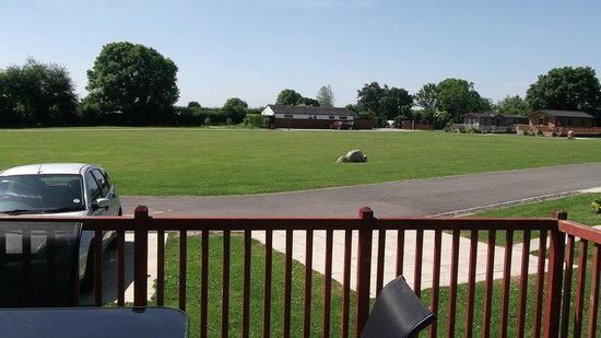 Ashbourne Heights Holiday Park: View from Lodge 12