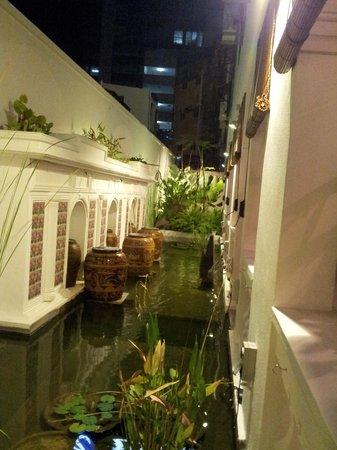 Museum Hotel: veranda