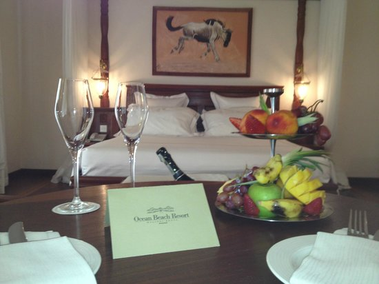 Ocean Beach Resort & Spa: suite view