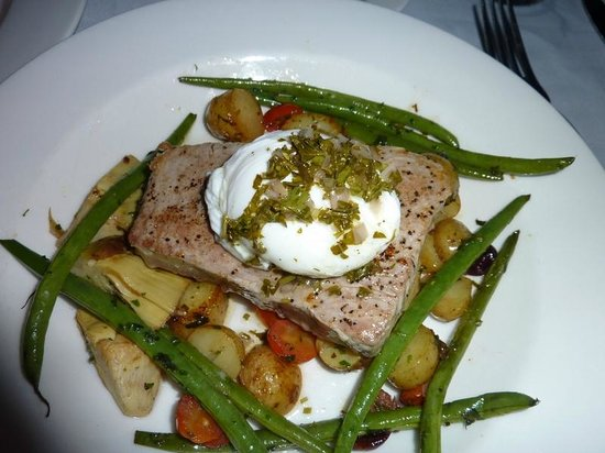 Waterfront Bistro: yellowfin tuna