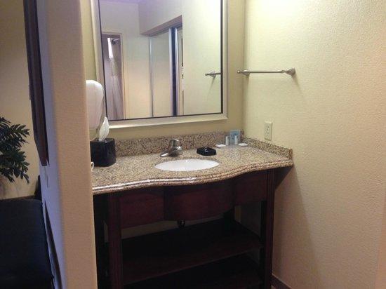Hampton Inn & Suites Dallas-Arlington-South : Bathroom sink