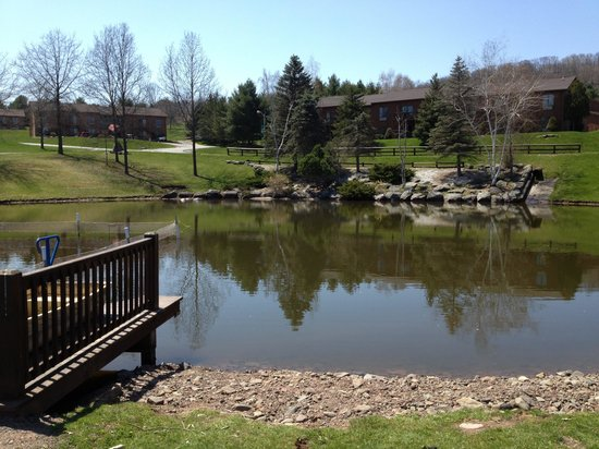 Villa Roma Resort and Conference Center : View of the lake