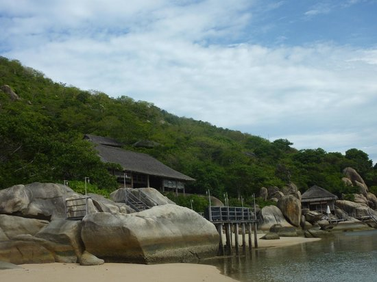 Six Senses Ninh Van Bay: пляж