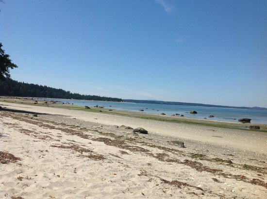 The Savary Island Resort: One of the many beautiful beaches