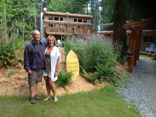 The Savary Island Resort: The Joels
