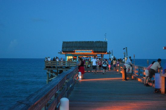 View from the bar picture of cocoa beach pier cocoa for Cocoa beach pier fishing