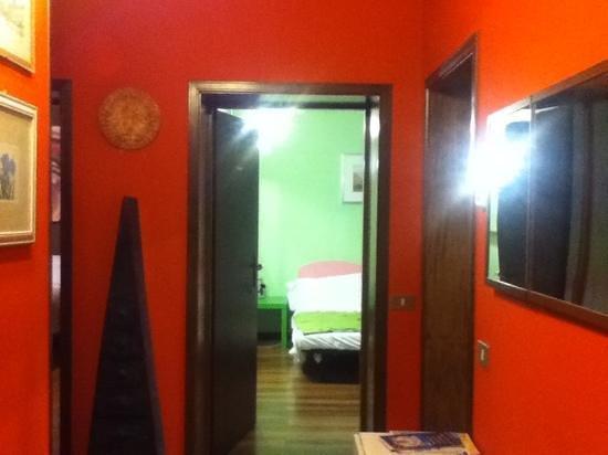 Fragolino Hostel: bonito lugar desde la entrada!