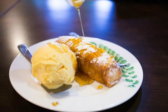 Saigon Rim Sai : ไอศกรีมกล้วยหอมทอด ราคา 50 บาท คุ้มมากครับ