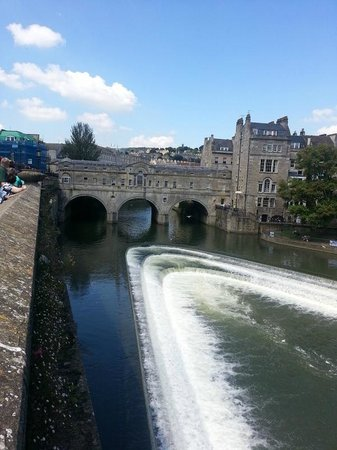 Bath Weir Picture Of Bath City Boat Trips Day Tours Bath TripAdvisor