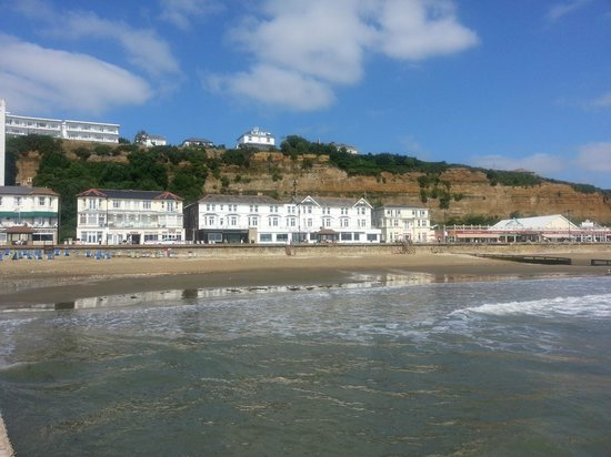 Shanklin Beach Hotel: View from the Water