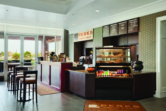 Hyatt Regency Wichita: Perks our grab and go