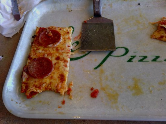 Ledo Pizza: Little squares of pizza