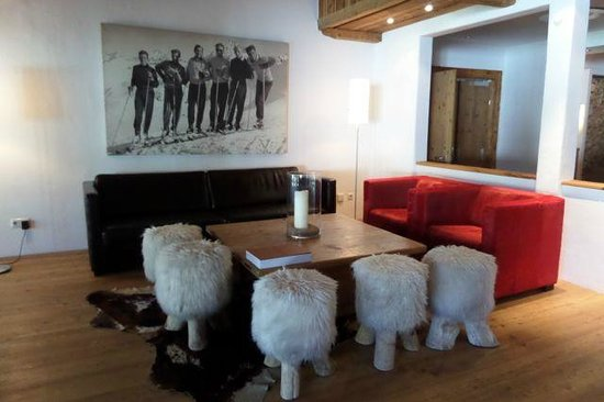 Hotel Kitzhof Mountain Design Resort: Lobby seating