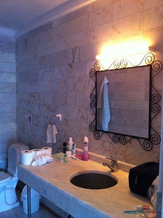 Serena Suites: The bathroom