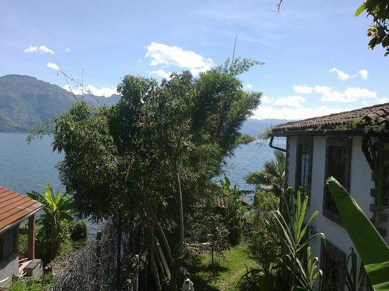 Casa Lobo Bungalows: Vista desde el Bungalow