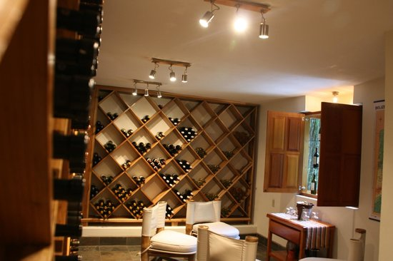 Ka'ana Resort: 2,000 bottle wine cellar, where orientation takes place