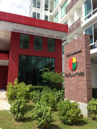Hotel Outlook Picture Of The Color Hotel Hat Yai