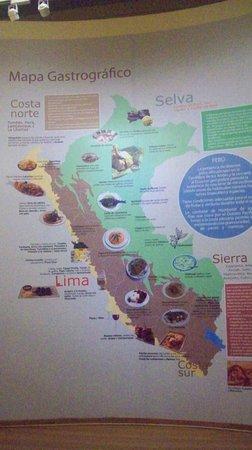Mapa gastrogr fico picture of la casa de la gastronomia - Plano de la casa ...