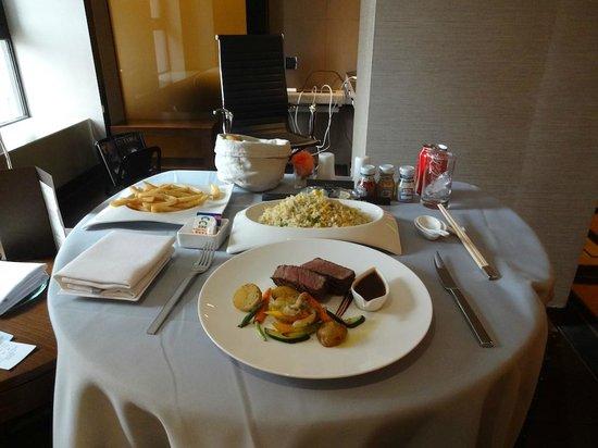 Hilton Beijing Wangfujing: Room service