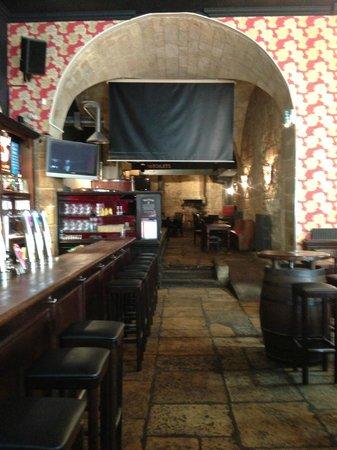 The Frog & Rosbif : Bar area