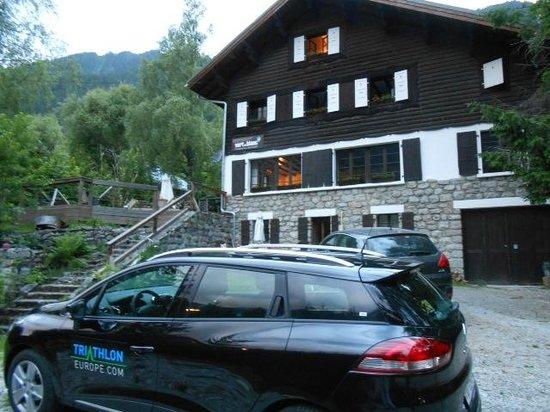 Vert et Blanc: stunning outlook to Mt Blanc
