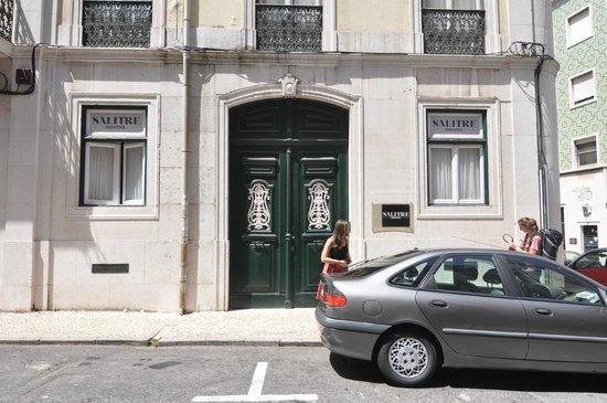 Salitre Hostel : entrance