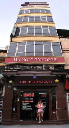Hanoi City Hostel : Entrance