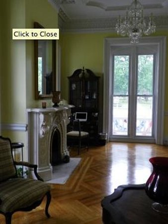 Marble Mansion Inn : Front Parlor