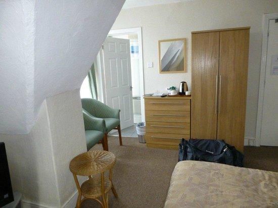 The Claremont Hotel: Bedroom