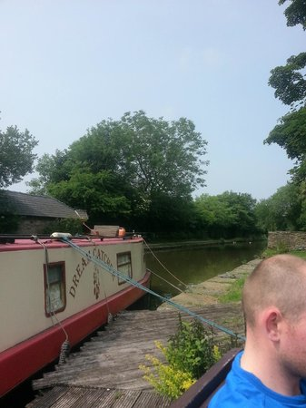 White Nancy Cruising Restaurant Boat: canal