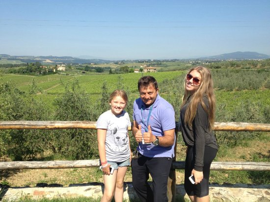 All Around Italy : my daughters with Fabrizio