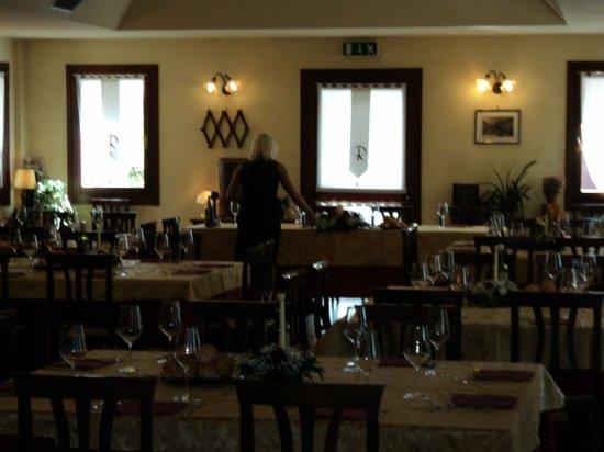 Albergo Ristorante La Bersagliera : sala ristorante