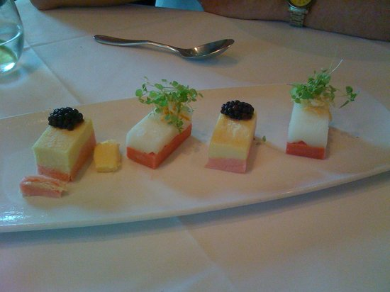 The Belvedere in The Padre Hotel: Sorbet Terrine