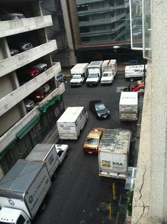 Apartamentos-Hotel Avilla : Vista desde la habitación