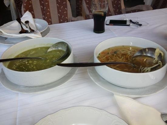Hotel Buncic: this is how much soup you get for 15 kn ($3)