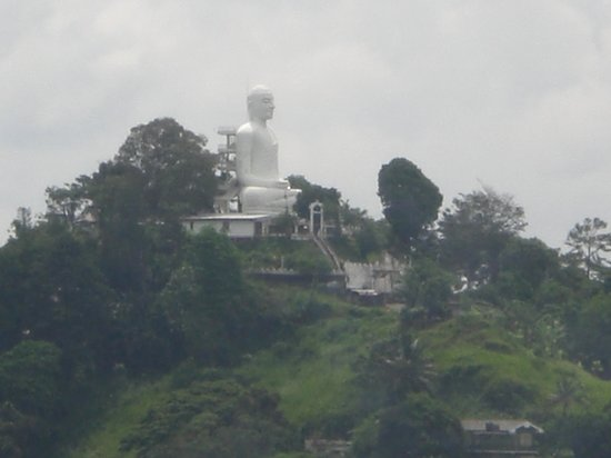 Oak Ray Serene Garden Hotel: Ook dit kon je vanaf het balkon zien