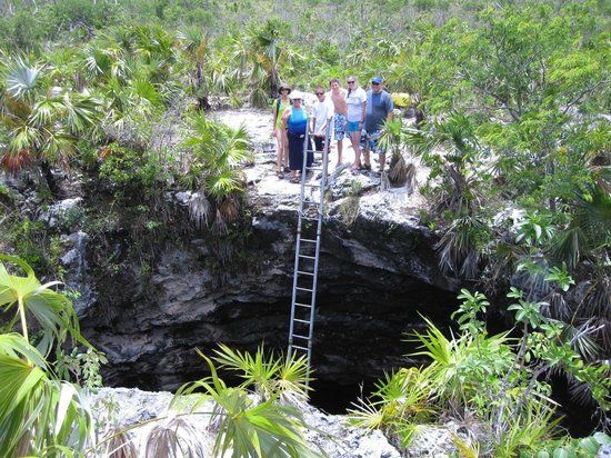 Calabash Eco Adventures: inner island blue hole tour
