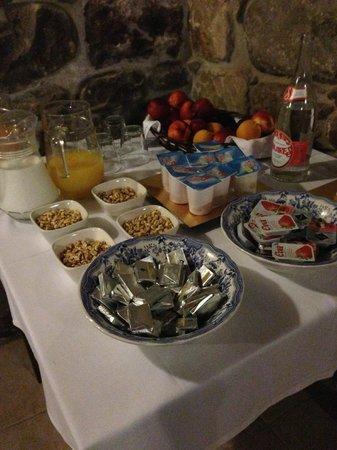 Hotel Casona La Hondonada: Desayuno