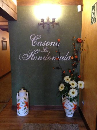 Hotel Casona La Hondonada: Detalle del pasillo