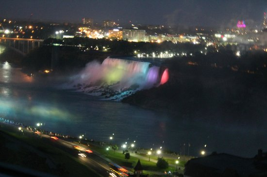 Niagara Falls Marriott Fallsview Hotel & Spa: View from our room