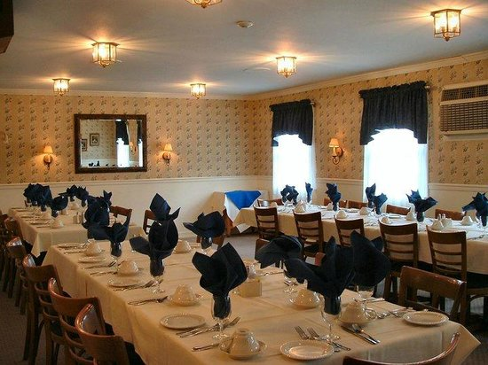 The Lafayette House Private Dining Room
