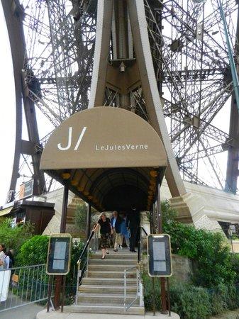 Le jules verne torre eiffel paris foto dicas - Restaurante julio verne ...