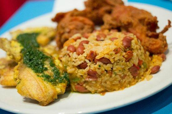 Pina Colada Club: Crispy Chicken Chicharrones - Mamposteado & Hot Plantain